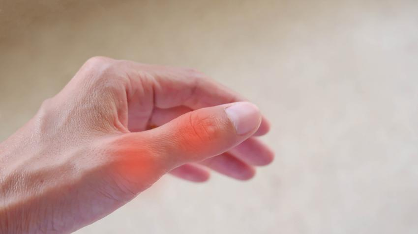 az ujjak ízületi gyulladása nem hajlik meg
