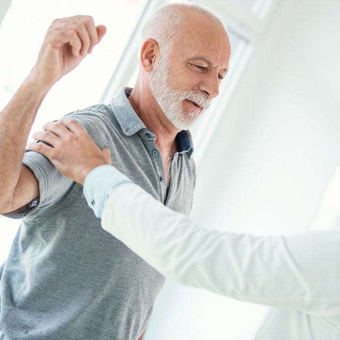 kéz vállízület kezelése