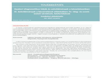 artrózisos kezelés hialuronsavval táplálkozás a csípőízület fájdalmához