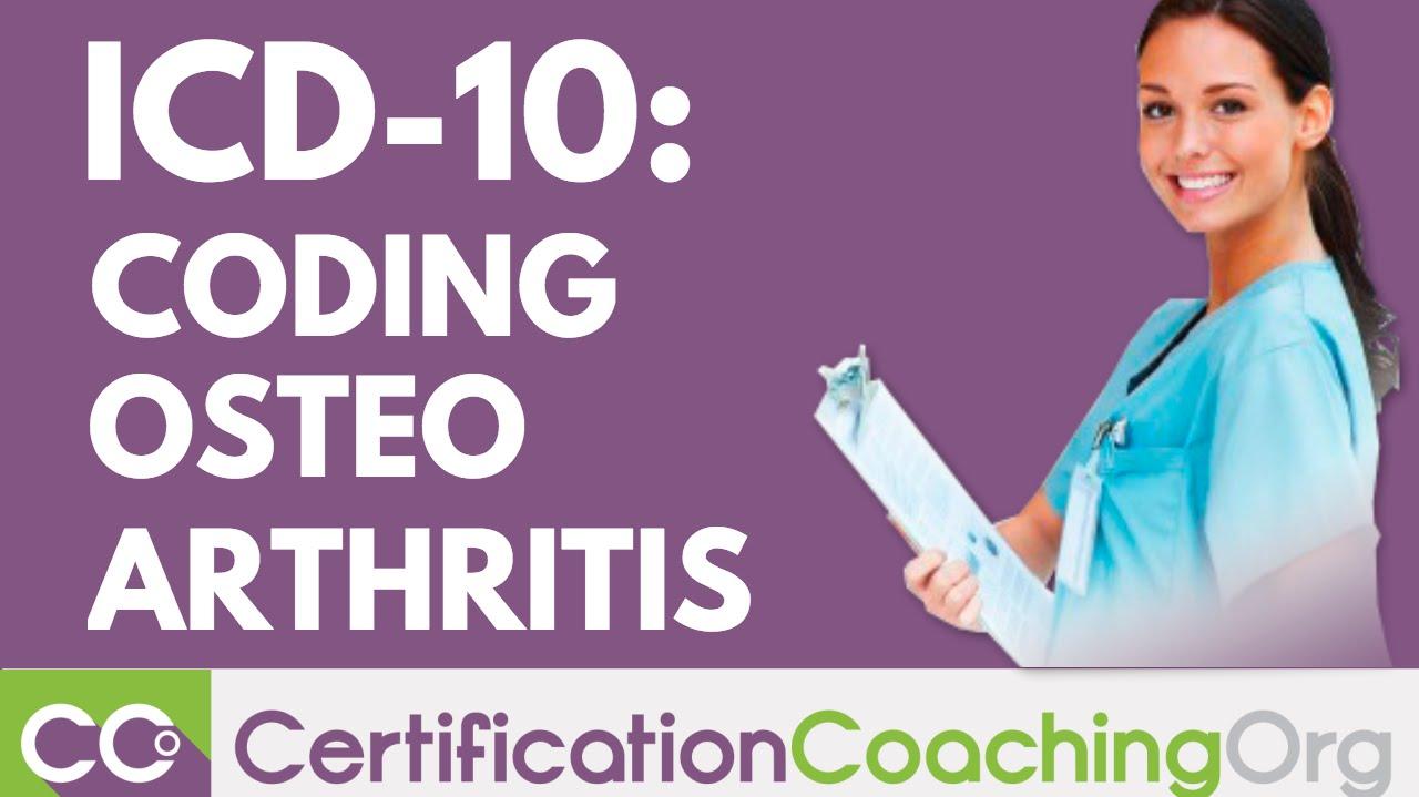 osteoarthritis knee icd 10 ízületi gyógyító légzés