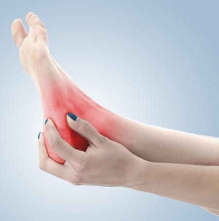 fáj a bal láb ízületei