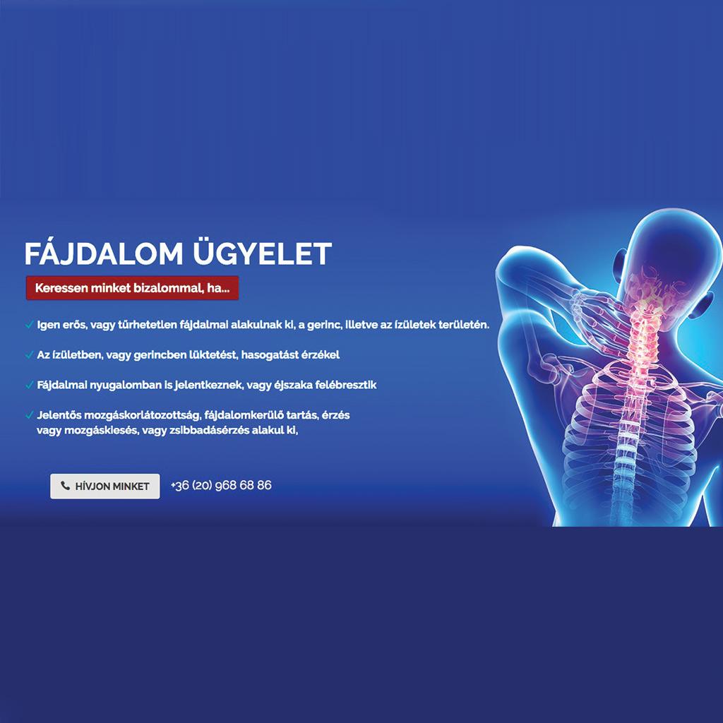 fájdalom ízületek gerinc ízületi gyulladásos szinovitisz