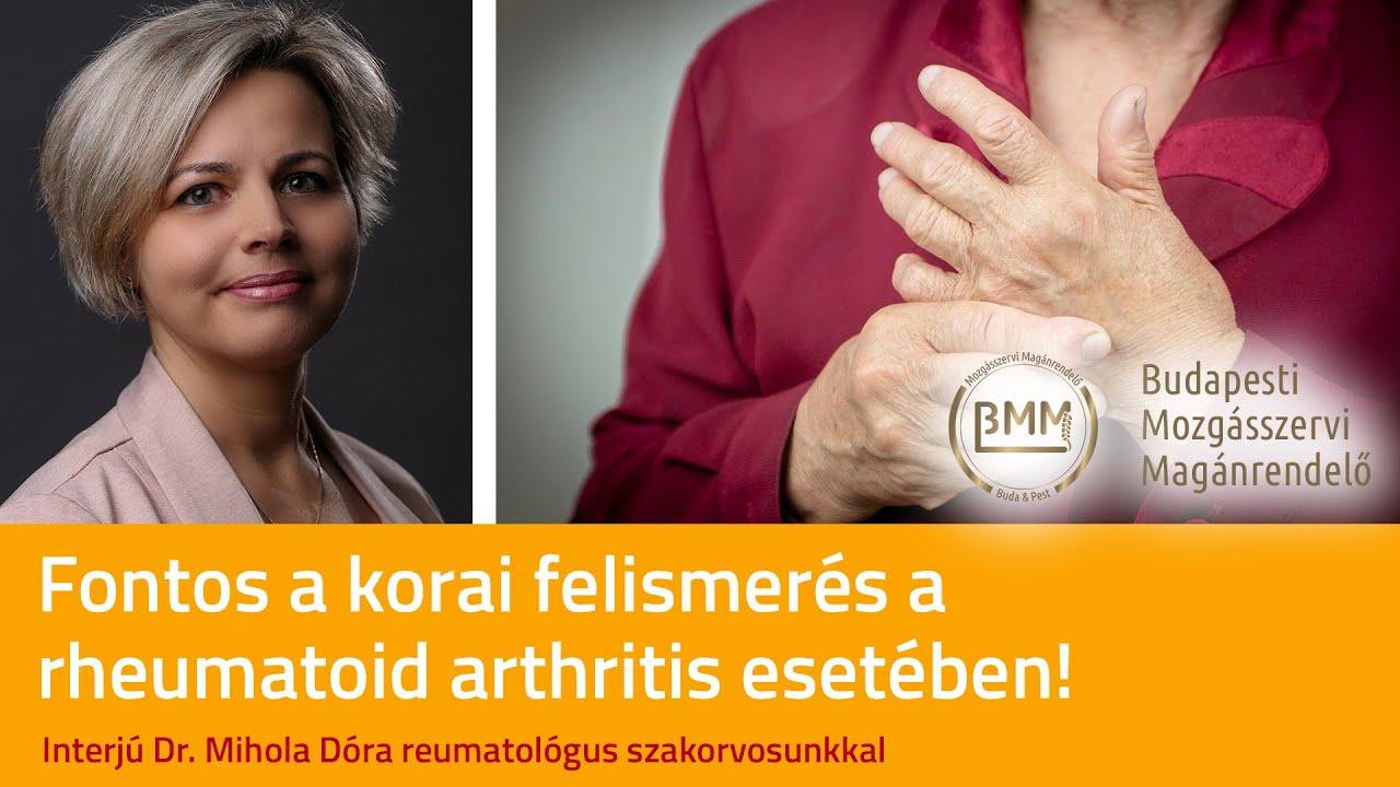 rheumatoid arthritis térdízületi gyulladás