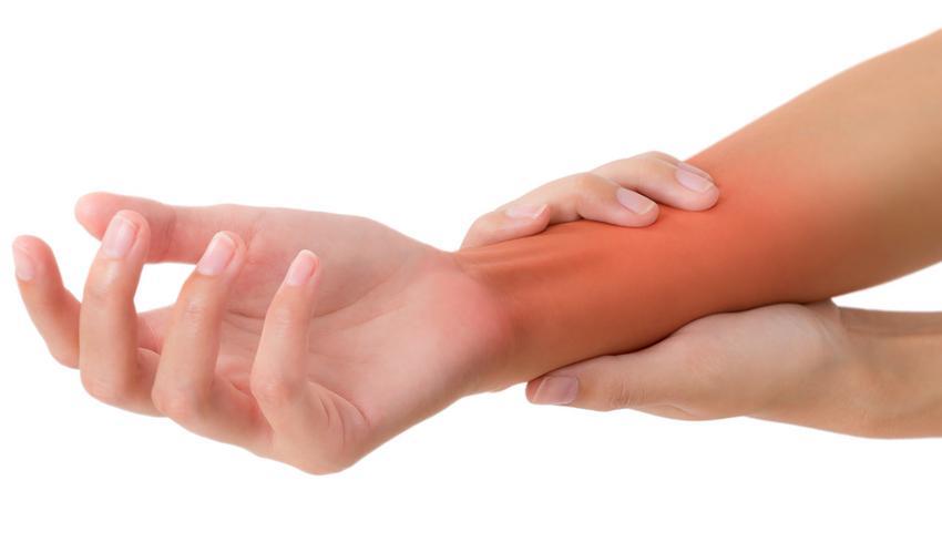 fájdalom a csukló kezének ízületeiben mézes kezelés térd ízületi gyulladás