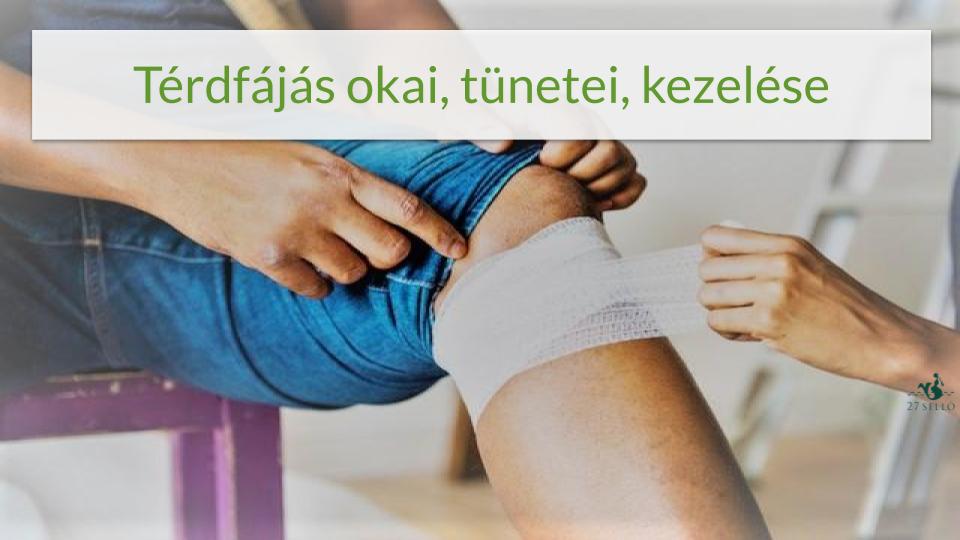 Térdfájás – Így előzheti meg!